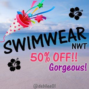 NWT Various Sizes 50% off Retail Suits & Coverups